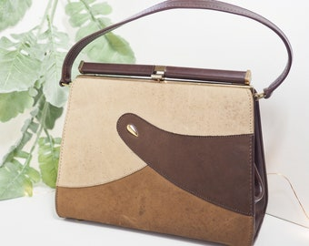 210309a2ea97 Cute 60s Vintage Handbag  Air Step Kelly Bag Purse