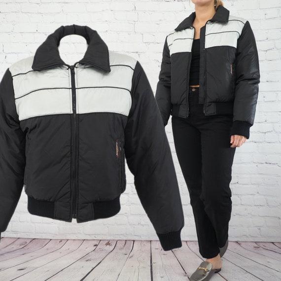 80s VINTAGE SKI JACKET/ Vintage Insulated Ski Jack