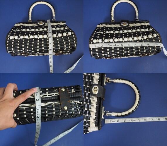 60s Vintage Mod Handbag by Mr. Rolf   Vintage Pur… - image 10