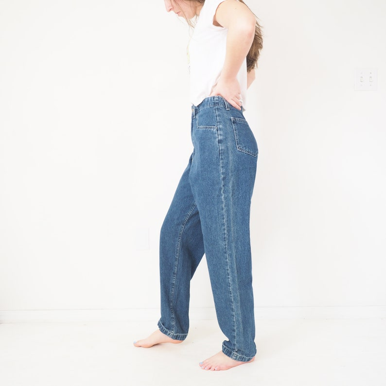 Wide Straight Leg 90s Vintage Riders by Lee Jeans High Waisted Aprx Women/'s Size 6 Baggy Fit