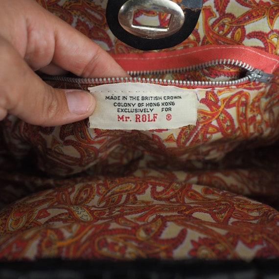 60s Vintage Mod Handbag by Mr. Rolf   Vintage Pur… - image 5