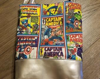 Captain America Tote