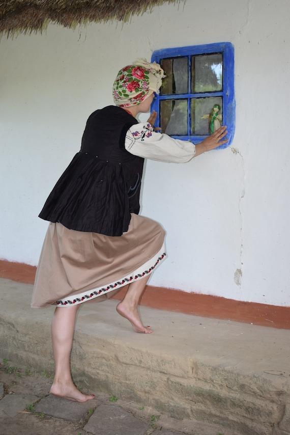 Retro jacket, Ukrainian vintage dress vyshyvanka,