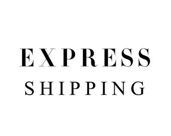 Please Purchase this listing in addition to your standard order. Express 1-3 Day Priority Mail. U.S. BASED ORDERS ONLY.