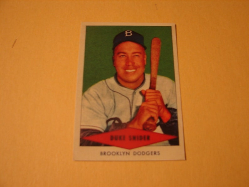 1954 Red Heart Duke Snider Reprint Card