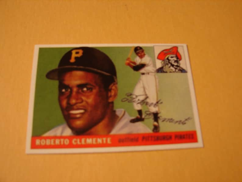 1955 Topps Roberto Clemente Reprint Rookie Card