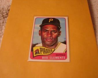 1965 Topps Roberto Clemente reprint card nice