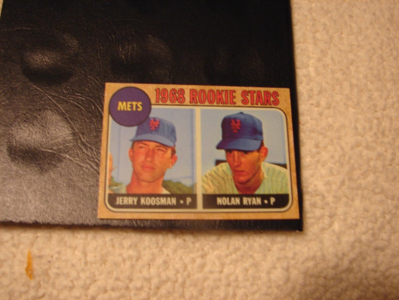 1968 Topps Nolan Ryan Rookie Reprin Card