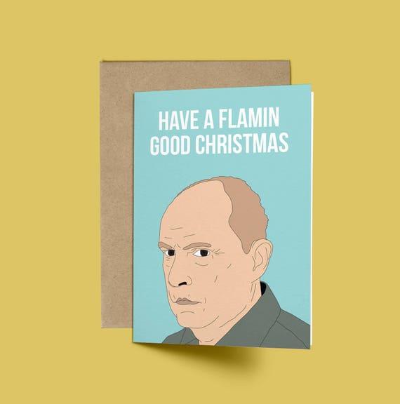 Alf Stewart Flamin gute lustige Weihnachten Weihnachtskarte | Etsy
