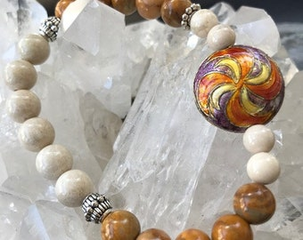Feeling Centered and Grounded in Yellow Jasper