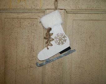 Door SIGN dekoschild /'Ice Skating/' ice skating ice skates