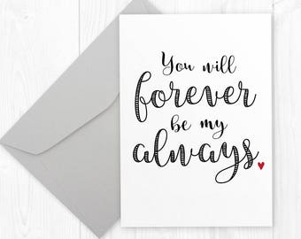 Valentines Day Printable Card For Husband Or Wife
