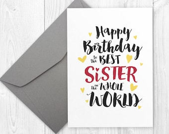 Printable Happy Birthday Card For Brother Best Brother In Etsy
