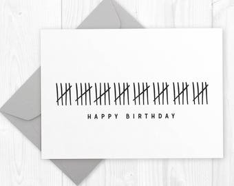 graphic about Printable 40th Birthday Card identified as Humorous Pleased 50th Birthday printable card Do-it-yourself Printable Etsy