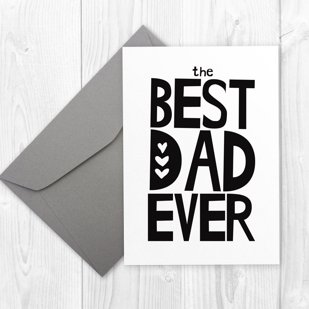 Fathers Day Printable Card For Dad Happy Birthday