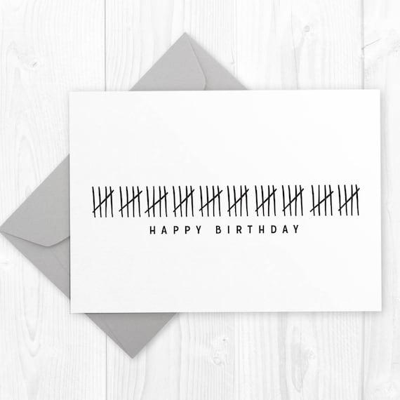Funny Happy 50th Birthday Printable Card DIY