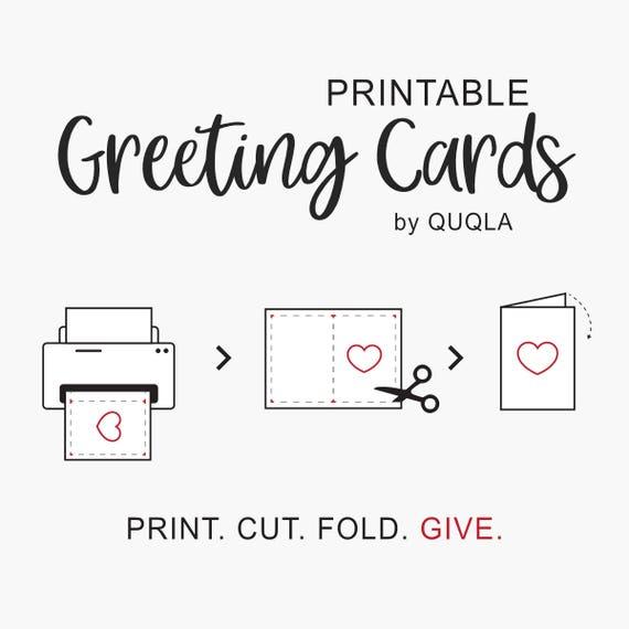 Printable Birthday Card For Boyfriend Or Husband Wedding