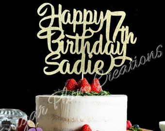 Enjoyable 17Th Birthday Cake Etsy Funny Birthday Cards Online Alyptdamsfinfo
