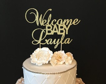 Baby Shower Cake Toppers ~ Baby cake topper etsy