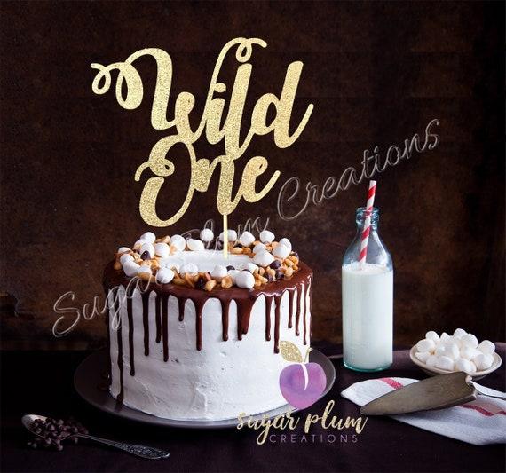 Sensational Wild One Cake Topper First Birthday Cake Topper Wild Cake Etsy Birthday Cards Printable Inklcafe Filternl