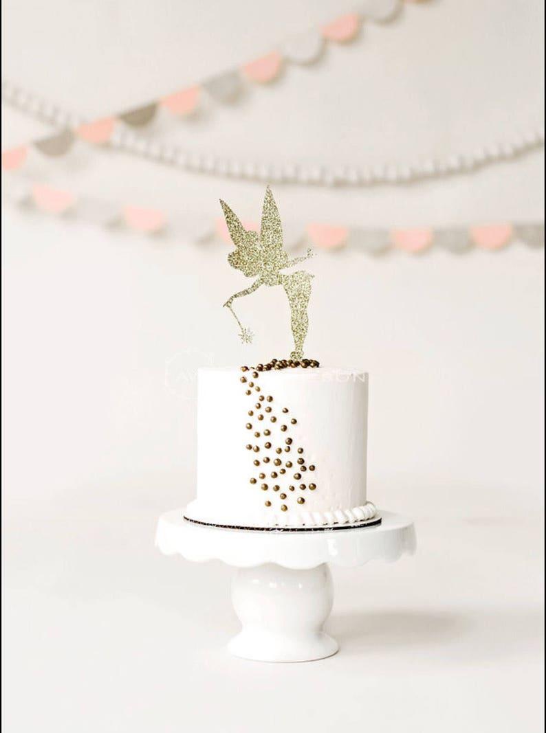 Tinkerbell Cake Topper Birthday