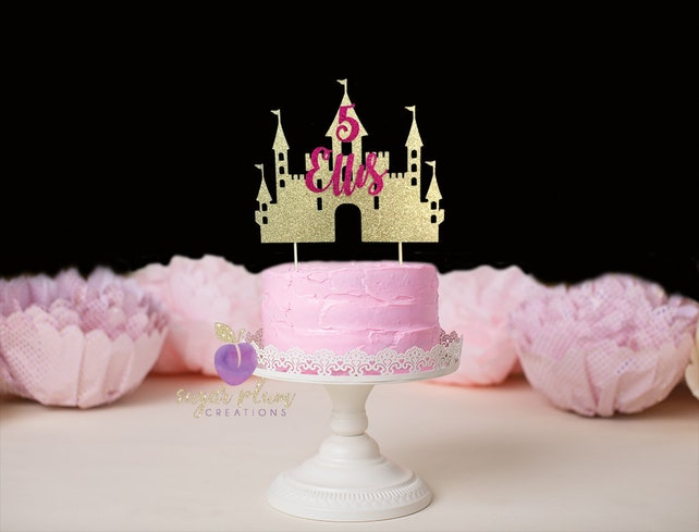 ANY NAME, Princess cake topper, Personalized Princess Cake topper, Princess Birthday
