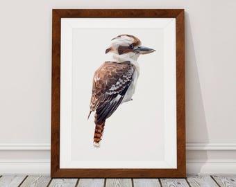 Kookaburra Digital Download, Kookaburra Digital Print, Kookaburra, Digital Download, Digital Print