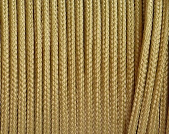 Paracorde - Type I - Gold - for your Creations - Sold by the Meter