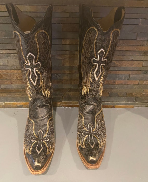 Corral Cowboy Boots, Western Boots, Black Boots, V