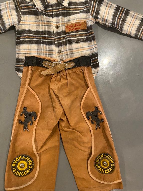 Buck Jones Ranger Outfit, 1930's Boy's Costume, Vi