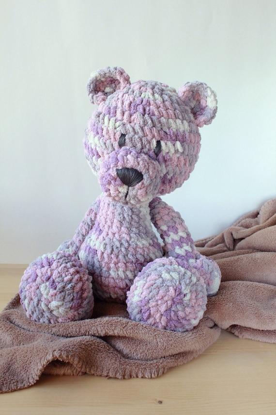 How to crochet a basic teddy bear / amigurumi bear - Buttons ... | 855x570
