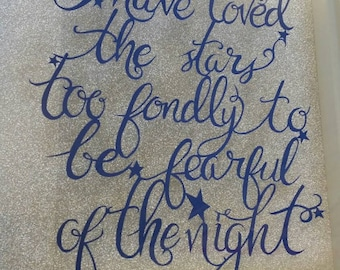 Love the stars - papercut template - commercial use - the old astronomer