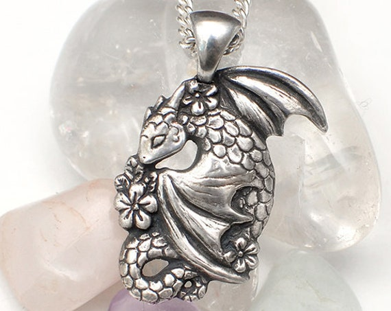 Earth dragon necklace