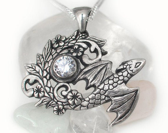 Earth dragon spirit necklace