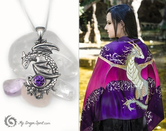 Purple dragon gift set