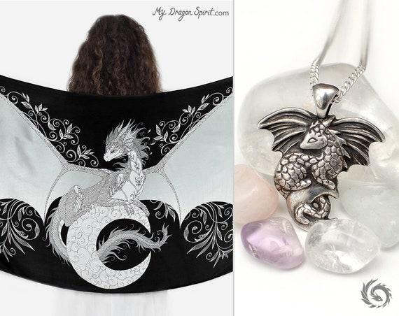 Moon dragon gift set