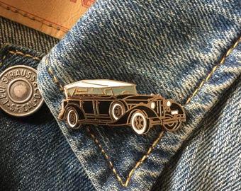 Antique Rolls Royce Lapel Pin (stock# 962) hat pin, lapel pin, enamel pin, antique car, luxury car