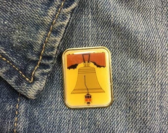 Vintage Liberty Bell Lapel Pin (stock# 893)