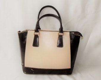 5a85d6561a Vintage Genuine Leather bag Camel Beige Brown purse Made in Italy italian  european fashion quality women handbag purse accessories