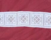 Vintage Crochet table runner home decor wedding crochet table decor Wedding gift farmhouse textiles