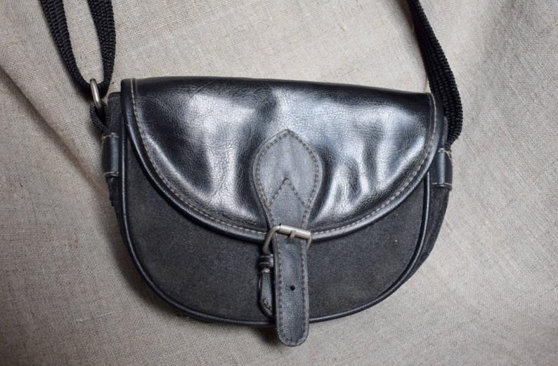 épaule main daim à au JJ Bandoulière Sac décontracté fantaisie sac main aventure cuir Suède à sac Vintage noir suédoise en en design fashion L3A54jRq