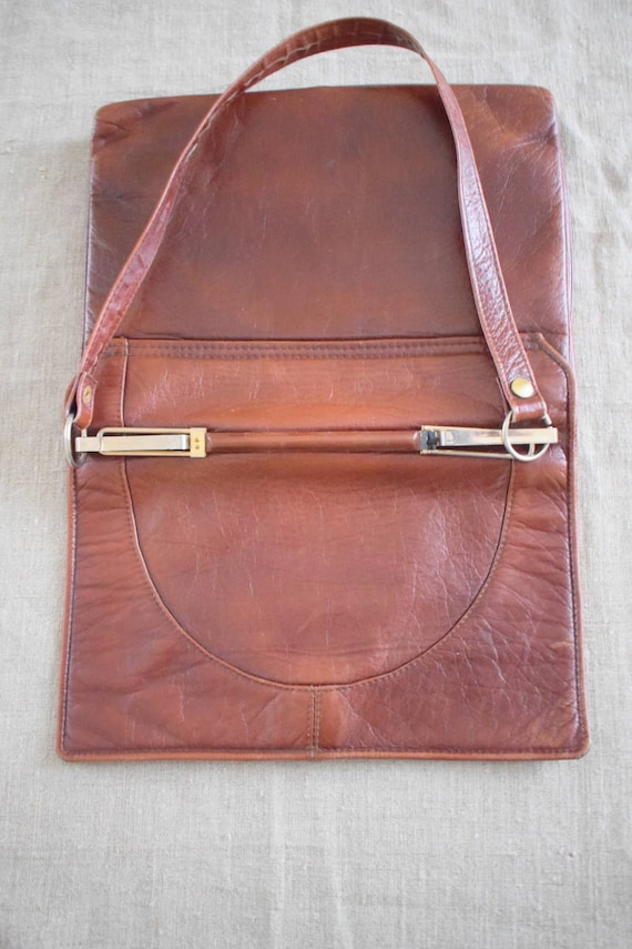 ba81dcf8bb Danish Vintage leather classic bag quality Denmark Boxca purse