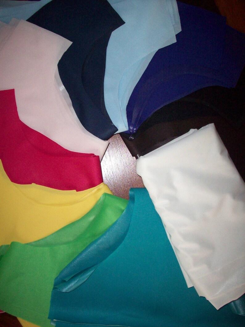 Fabric 10 YARDS up to 20 Colors Environmentally Friendly PolyUrethane Laminate Eco PUL Waterproof