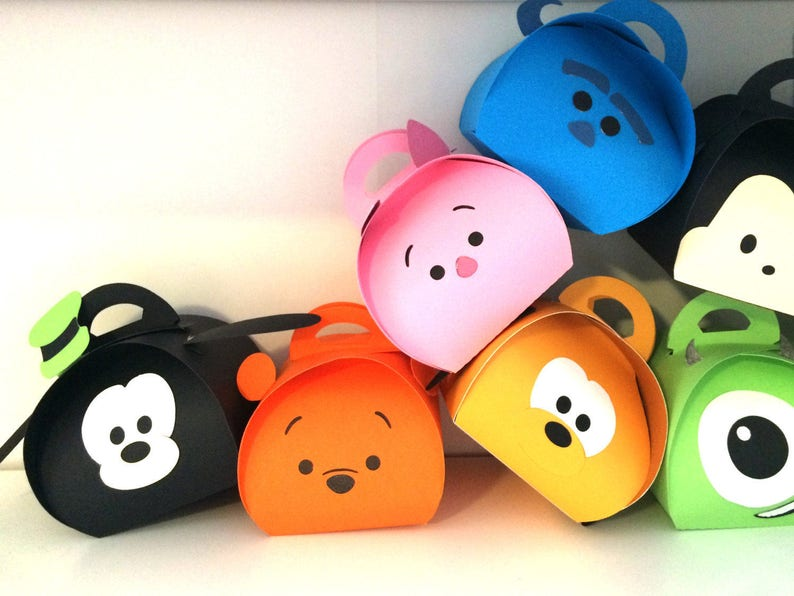 Rainbow theme party decoration  favor boxes Customization available .. Small size