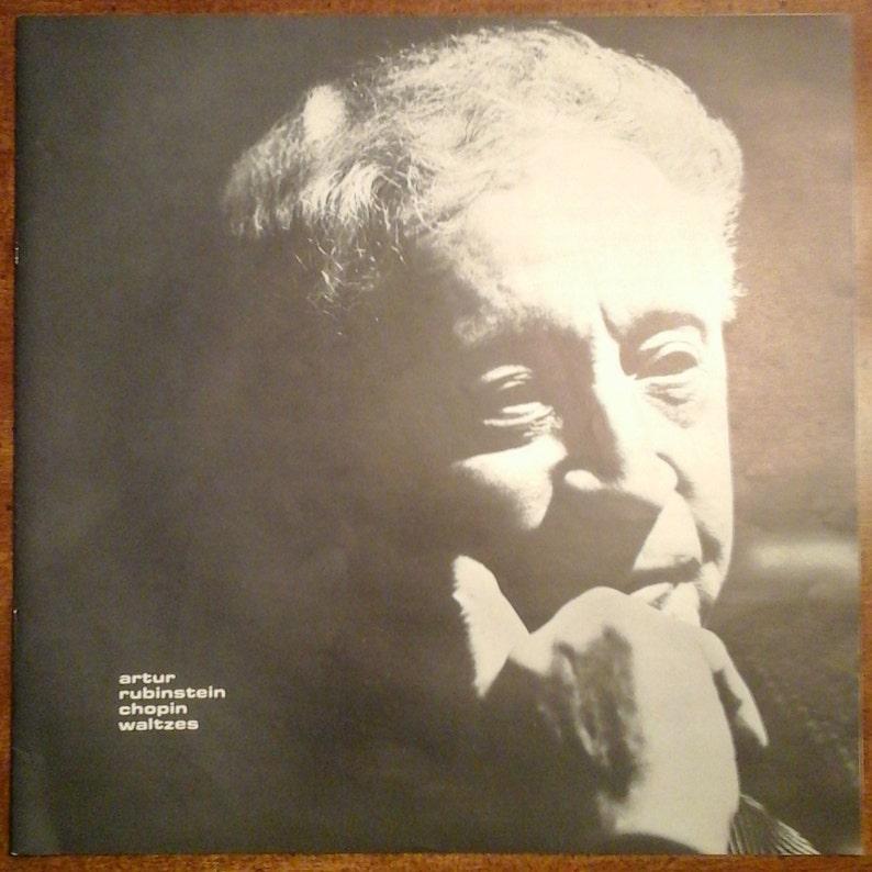 Arthur Rubinstein - Chopin Waltzes LSC-2726 Vinyl Record LP 1964