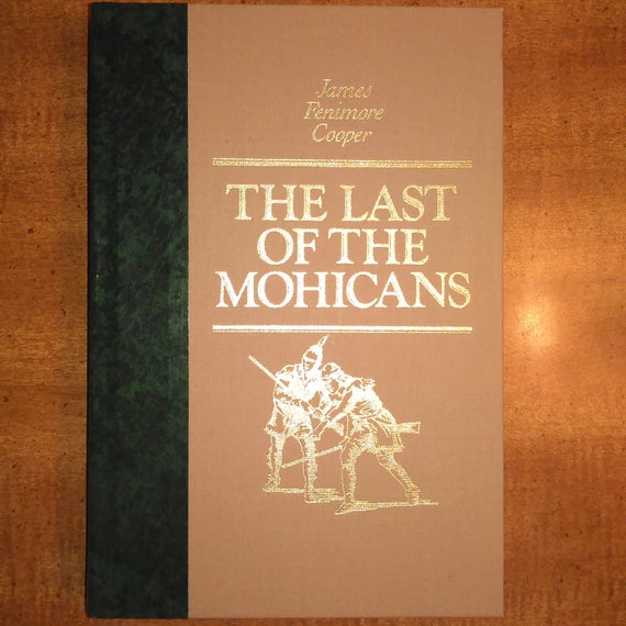 1984 James Fenimore Cooper The Last Of The Mohicans Vintage Etsy