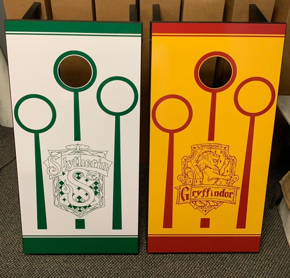 Cool Custom Made Cornhole Bean Bag Toss Boards Harry Potter Free Bags Andrewgaddart Wooden Chair Designs For Living Room Andrewgaddartcom