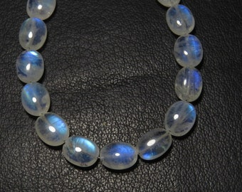 High Quality Rainbow Moonstone Blue Fire Faceted Tear Drops Size 9.5-11  mm 5 pcs