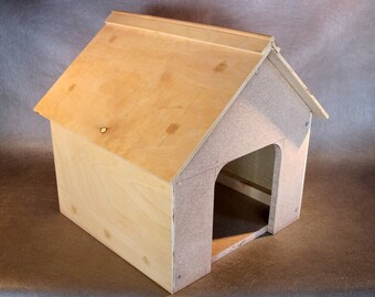 "Dog house/Cat cottage kit - 17""H X 14""W X 14""D"