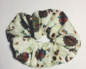 Floral Scrunchie